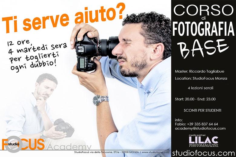 CORSI DI FOTOGRAFIA IN STUDIO